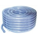 18mm Clear Braided Hose - 100 Metres