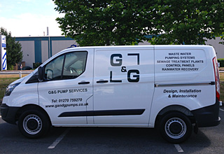 G&G Pump Services Ltd Van